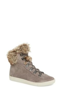 Free shipping and returns on Pour la Victoire 'NYX'High Top Sneaker (Women) at Nordstrom.com. A plush faux-furcollar adds a cozy touch to a streetwise high-top sneakerfeaturing polished grommets and a platform rubber sole.