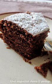 la tendresse,gâteau chocolat, poudre d'amandes,stéphane glacier, mercotte,facile,rapide,moelleux