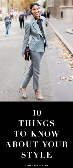 From walking in heels to your signature denim style, certain things come with age