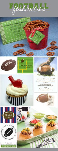 Big Game, Big Celebration! | Polka Dot Design Blog: Ideas, Inspiration & Invitations