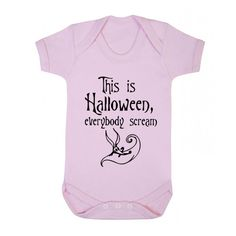 This is Halloween, Jack Skellington baby vest nightmare before christmas xmas film funny halloween cute present gift baby shower K075 by BreadandButterThread on Etsy
