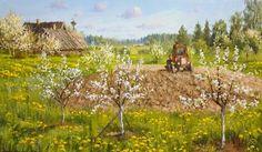 Весёлый день и тёплый ветер, автор Владимир. Артклуб Gallerix
