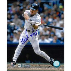 $129.99 - Ironclad New York Yankees Wade Boggs Autographed 8x10 Photo  - MLB.com Shop