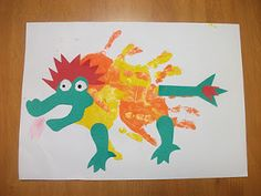 Preschool Crafts for Kids*: 2012 New Year Dragon Craft