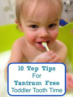 If your toddler is a delightful angel when it comes to brushing their teeth, then please feel free to completely disregard this post and its contents. In fact, perhaps you should be writing this po...
