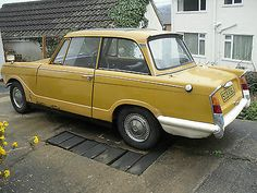 Triumph Herald 1360,6 Owners From New,running Car - http://www.classiccarsunder1000.com/archives/54660