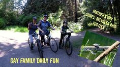 Mother's day, Shoes, Bicycles And Turtles | Gay Family Daily Fun