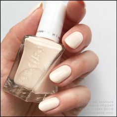 Essie Gel Couture Satin Slipper
