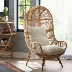 Make a statement with our Loft chair. 🌱Handmade with sustainable material 🛠️ No assembly required 🚗 💨Free UK delivery #rattan #rattanfurniture #furniture #homefurniture #chair #ratanchair #luxuryfurniture Natural Furniture, Rattan Furniture, Small Furniture, Luxury Furniture, Home Furniture, Free Uk, Hanging Chair, Wicker, Boho Chic