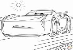ausmalbilder disney cars und lightning mcqueen