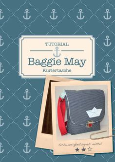 """Die """"Baggie May"""" ist eine klassische Kuriertasche mit Schultergurt. Ein A4-Format lässt sich locker darin unterbringen, so dass sie auch ein guter Begleiter für Schule oder Uni ist. Innen gibt es..."""