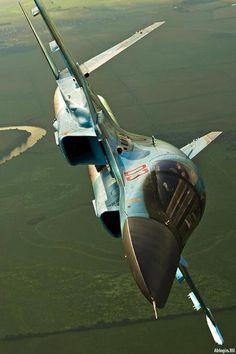 Su-34 in flight