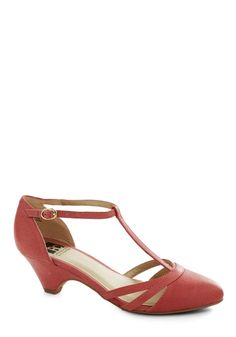 bc shoes just prance heel in punch.