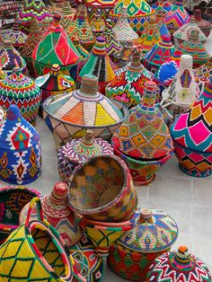 Your daily dose of color: Baskets | © Dar Kawa | Marrakech