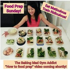THE ULTIMATE GUIDE TO FOOD PREPPING - How to make 15 clean healthy meals...