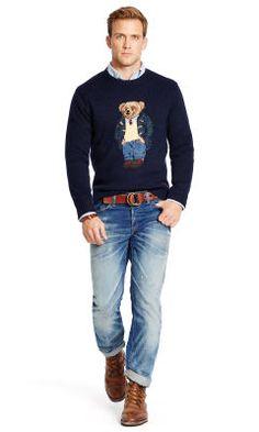 Preppy Polo Bear Sweater - Polo Ralph Lauren Polo Ralph Lauren - RalphLauren .com 55d36b4f6e2