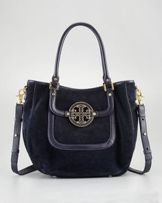 Amanda Suede Classic Hobo Bag by Tory Burch at Bergdorf Goodman.