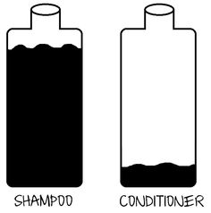 More shampoo than conditioner. Natural ladies, can you relate?