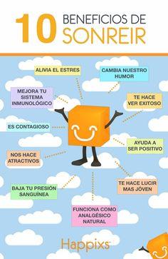 10 Benedicios de Sonreir (Poster)