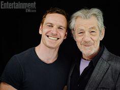 Magneto and Magneto -- Comic-Con '13 Star Portraits: Day 3   Photo 11 of 70   EW.com