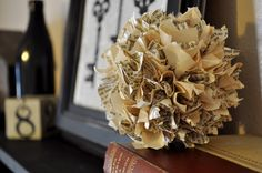Inspiring Creations: Vintage Paper Ball Tutorial