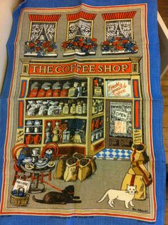 The Coffee Shop - Pat Albeck - In Collection
