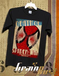 Death Of Spider Man Men TShirt TShirt  Spider Man by GRAINDUST, $18.98