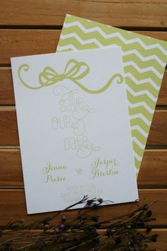 The Baton Rouge Save The Date Card on Etsy, $3.00