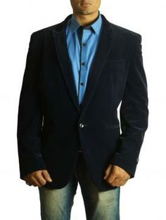 Steal the Show Wearing This Midnight Blue Jacket