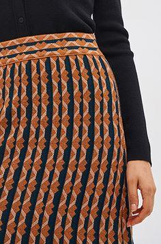 컬러 블록 니트 스커트 Knit Skirt, Knitting, Skirts, Fashion, Moda, Tricot, Fashion Styles, Breien, Stricken