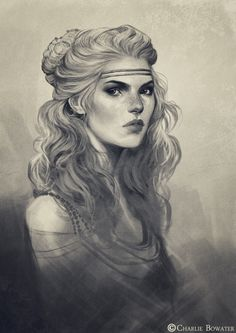 Sketches | Charlie Bowater (inspiration for Safiya)