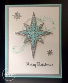 Star of Light, Stampin Up, Christmas Card
