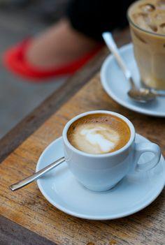 cafe con leche...