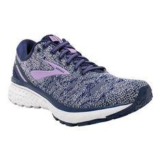 38ab4dce48b Women s Brooks Ghost 11 Running Shoe - Navy Grey Purple Rose Running Shoes