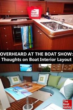 boat galley design | best features of an offshore blue water sail