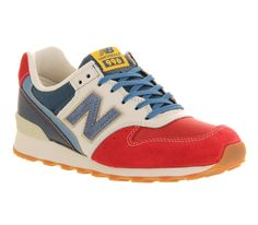 We love our New Balance shoes. Huffington Post has a great article on wearing your New Balance shoes for casual Friday. Check it out. New Balance Trainers, Red Trainers, Leather Trainers, New Balance Shoes, Leather Sneakers, White Shoes, Blue Shoes, Kicks Shoes, Sports Footwear