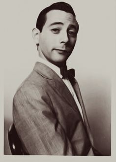 Paul Reubens as Pee-wee Herman. I would frame this.