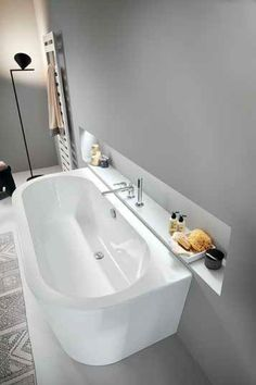 Diana bath tub white - planning worlds www. - Badezimmer ♡ Wohnklamotte - Home flw Bathroom Plans, Diy Bathroom Decor, White Bathroom, Bathroom Interior, Modern Bathroom, Master Bathroom, Spa Tub, Bath Tub, Pool Spa