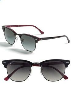 89e4cc5177 Ray-Ban Clubmaster 51mm Sunglasses   Nordstrom Que Me Quedes Tu, Gafas,  Cosas