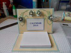 Stampin Corner: Calendar Girl