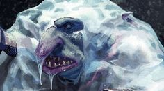 Realistically paint a character frozen in ice | Illustration | Creative Bloq