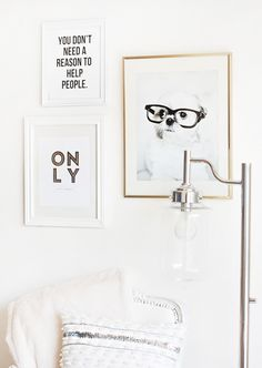 Obsessed with our new @Kristie-Lee Oshiro Home - Lighting & Decor Casey Floor Lamp! | © Chic Sprinkles