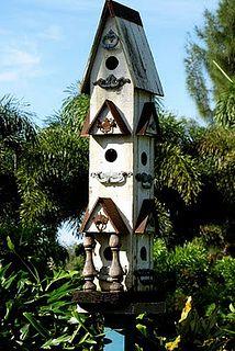 birdhouse tower