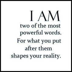 Entrepreneur.  I am two of the most powerful words. For what you put after your reality.