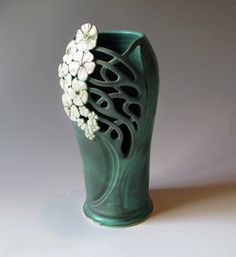 Art Nouveau Style - Maid Of Clay: Handmade Pottery