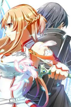 Asuna e Kirito