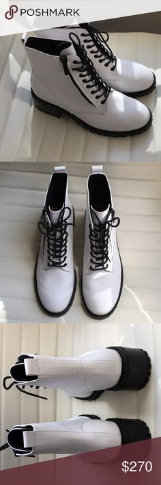 Handmade Converse Pro Leather Dust White Navy Dust Lp Ox For