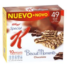 Barritas Biscuit Moments Chocolate Special K (Supersol) - 1 barrita 1 punto. Love Chocolate, Chocolates, Nom Nom, Biscuits, Sweets, Food, Breakfast, Foods, Clean Eating