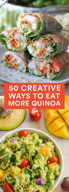It may no longer be the international year of quinoa, but its safe to say that quinoa mania is here to stay #creative #quinoa #recipes http://greatist.com/eat/creative-ways-to-eat-quinoa
