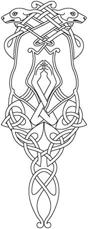 celtic hounds stencil - Google Search
